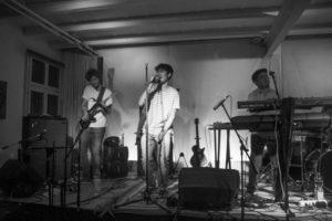 Die Band «Friskit» bei ihrem Auftritt Ende Oktober in Steffisburg. – Bild: Alexandra Stoll