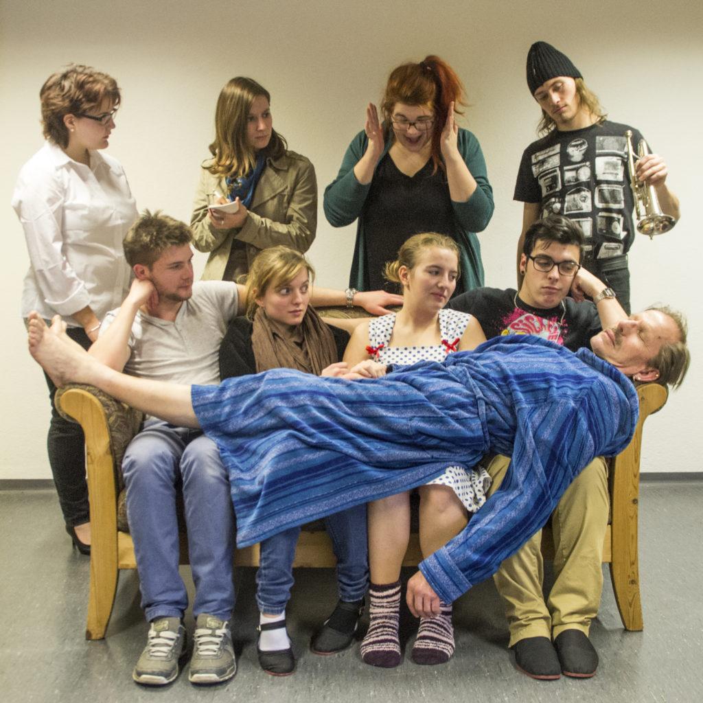 Das Team von der Jungen Bühne Thun. Bild: Alexandra Stoll