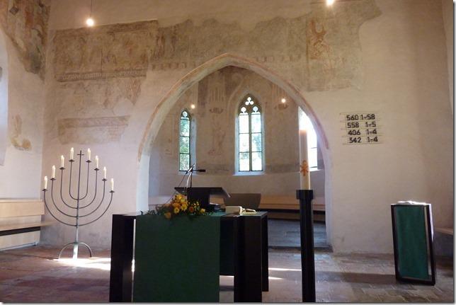 In der Scherzlig-Kirche.
