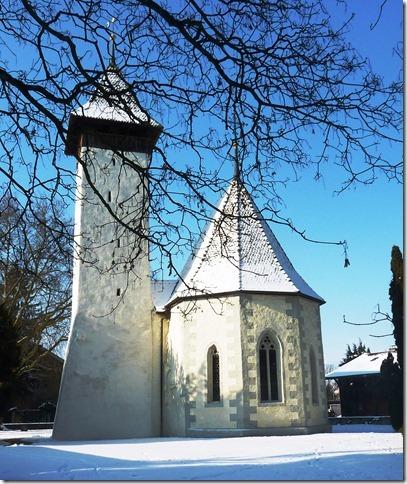 Die Scherzlig-Kirche. Bilder: Karin Mulder