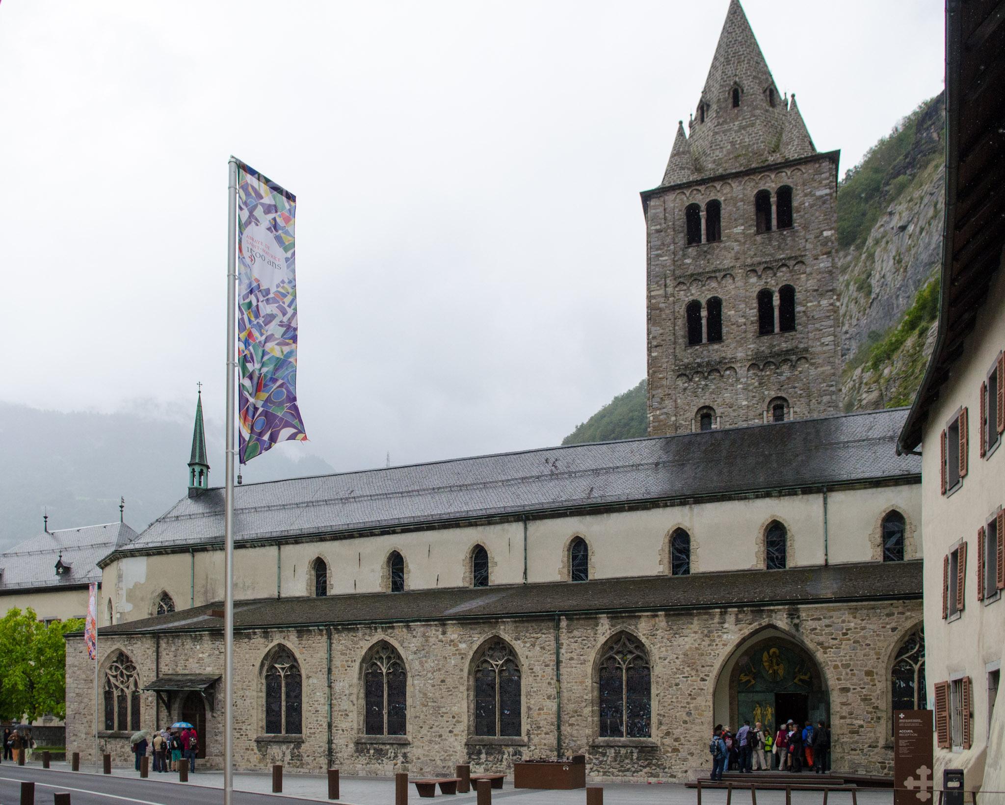 Das Kloster St-Maurice. Bild: Manuel Meister