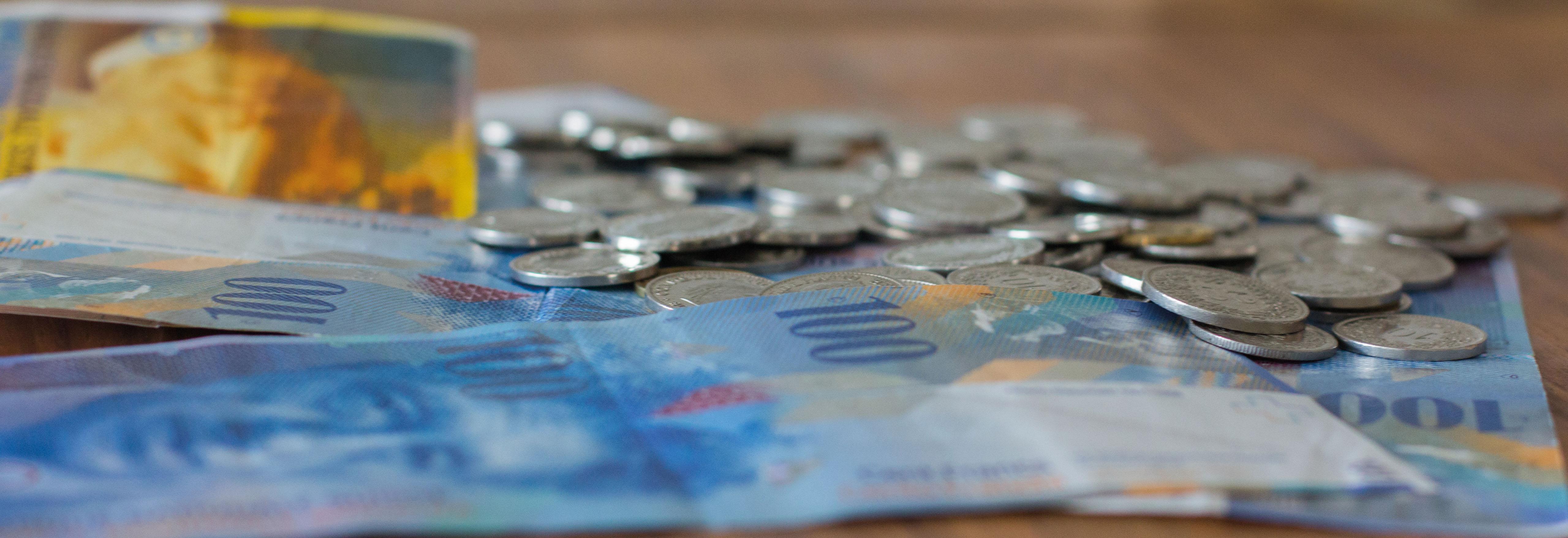 Geld – ein Tabu? – Bild: Elias Rüegsegger
