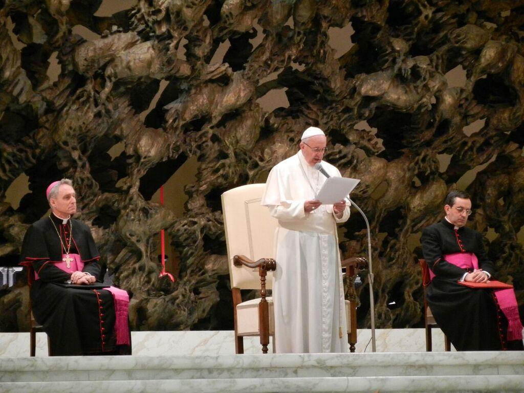 Eine Audienz beim Papst. – Bild: zvg/Viktor Kitanov