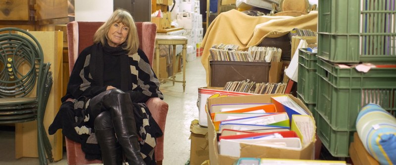 Monica von Rosen (73). – Bild: zvg, Film «Falten»