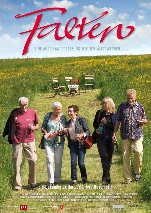 Das Cover des Films «Falten». – Bild: zvg Film «Falten»