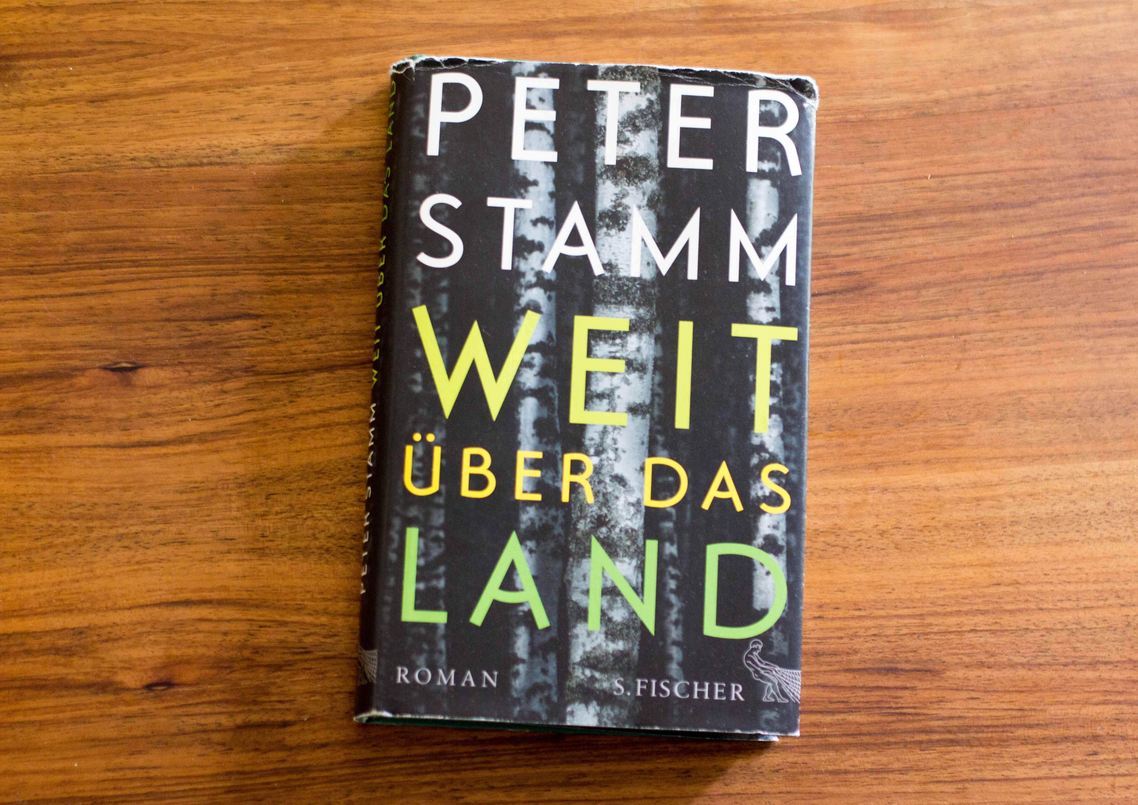 Das Buch von Peter Stamm. – Bild: Elias Rüegsegger