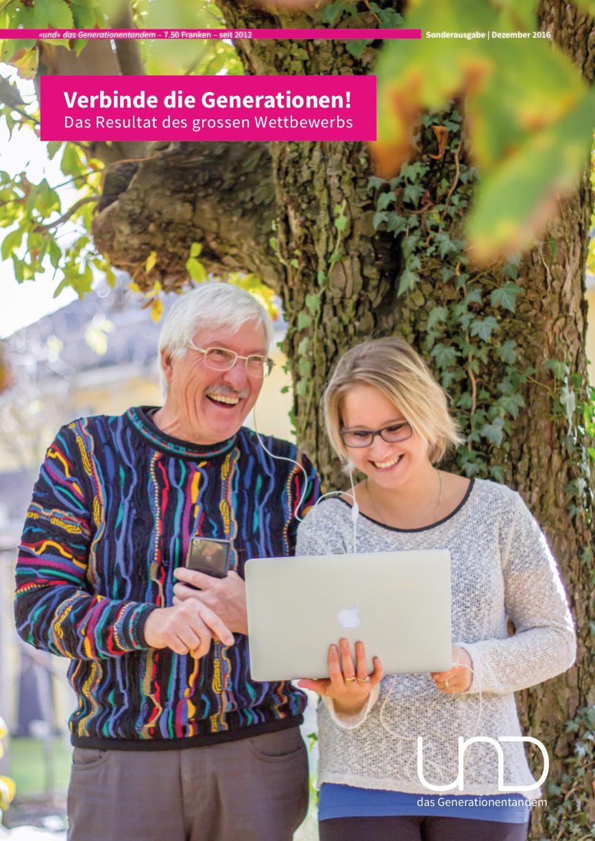 18. Ausgabe – Sonderausgabe «Verbinde die Generationen».