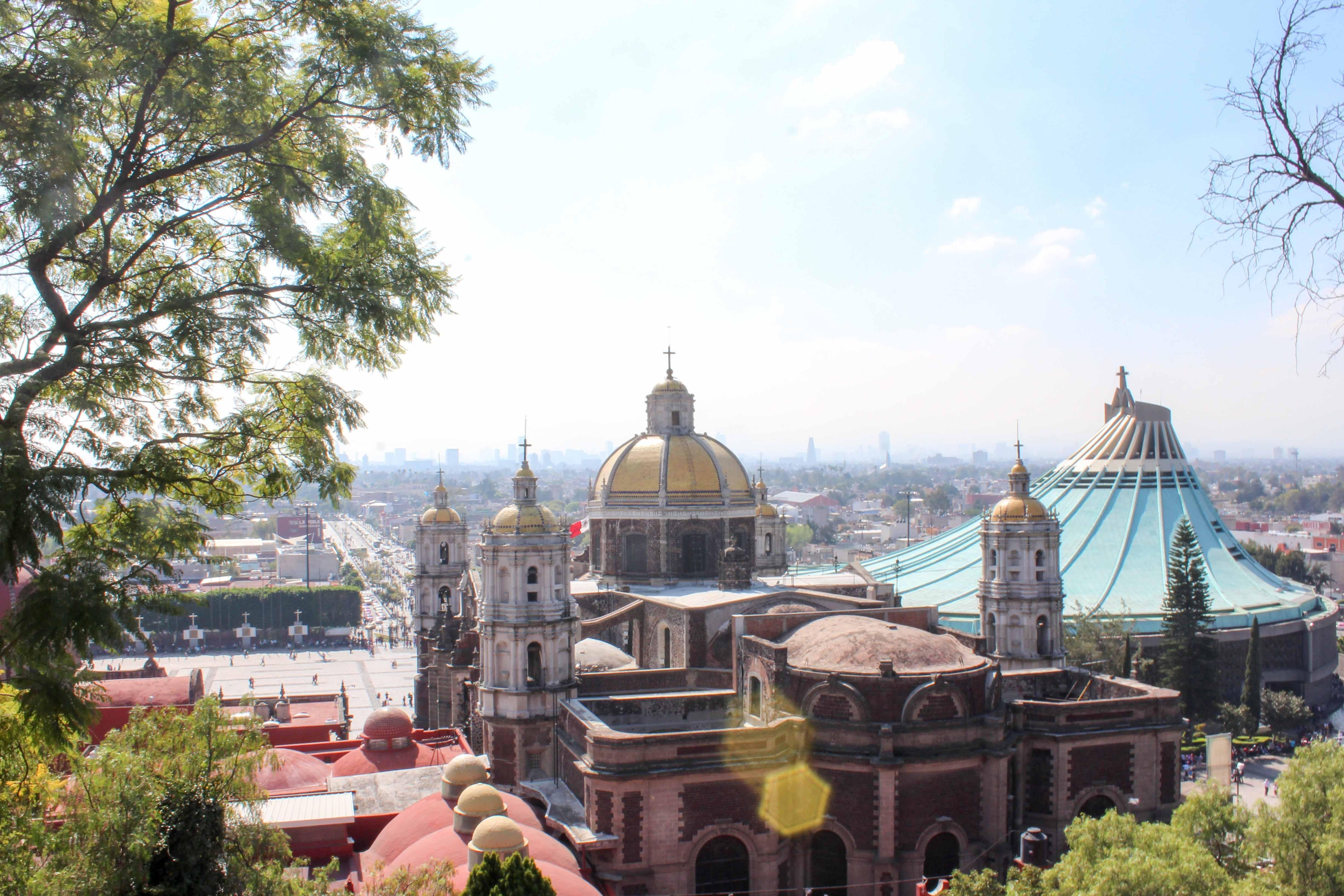 Mexico-City, Basilica de la Guadalupe.