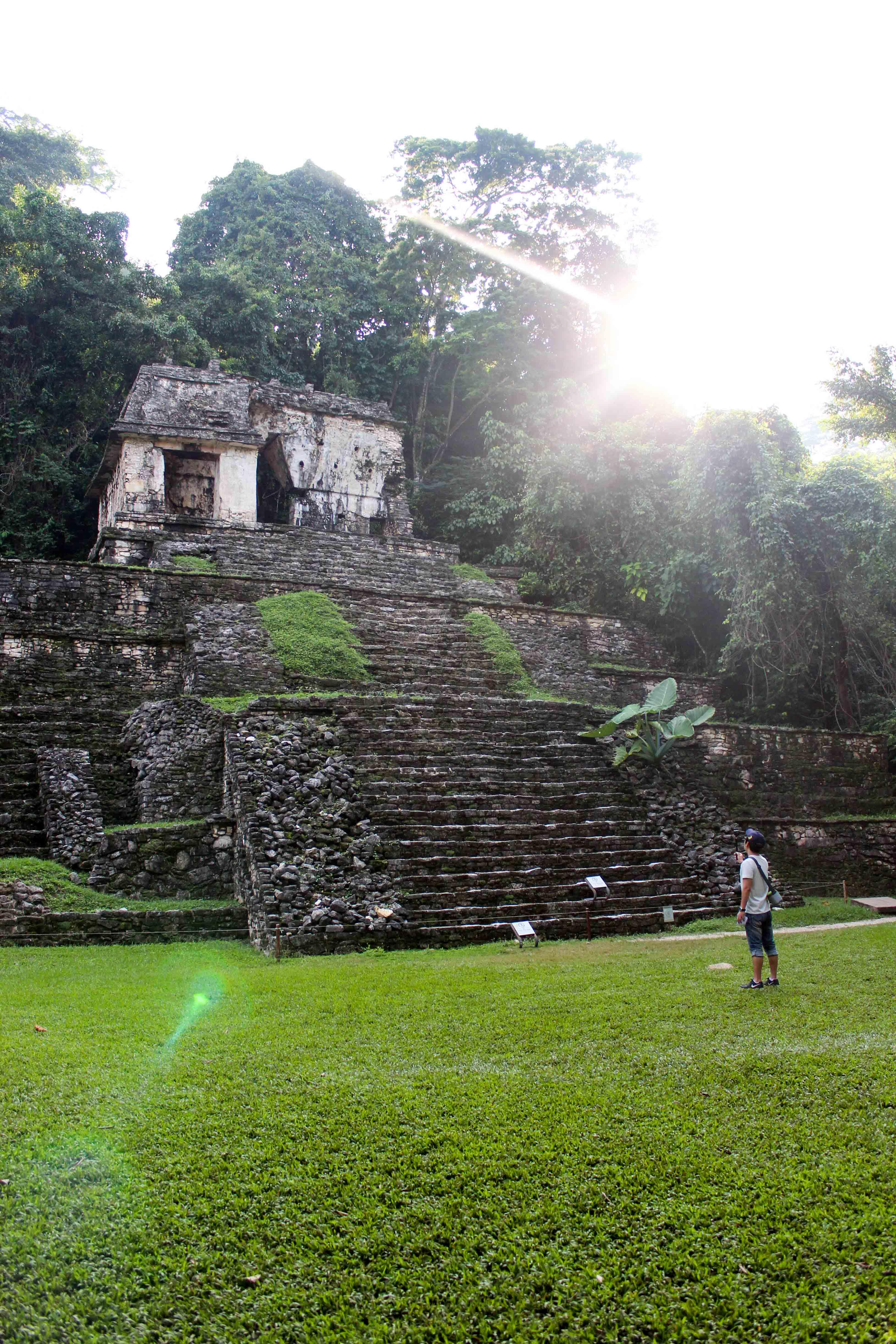 Ruinen von Palenque.