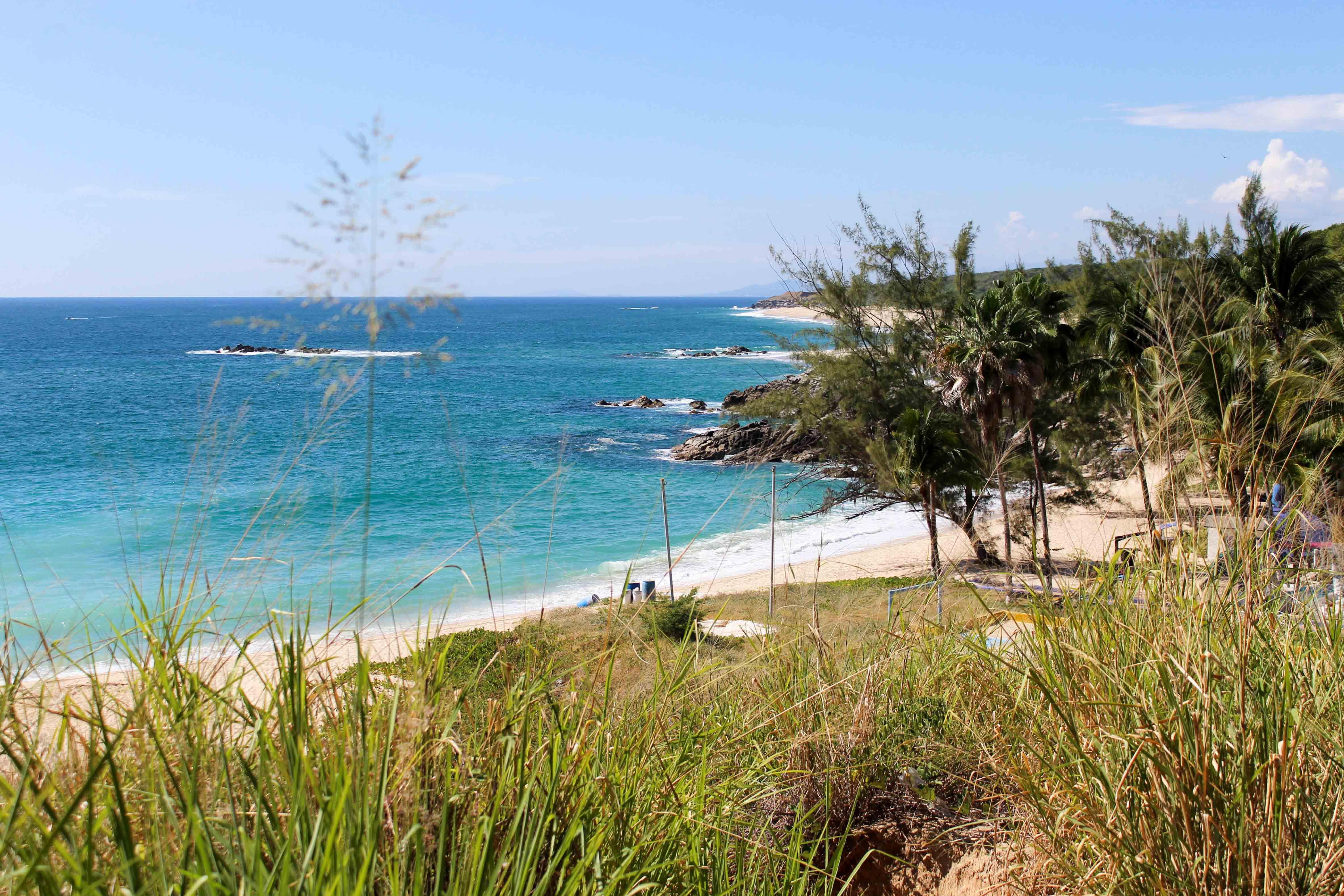 Strand in Puerto Escondido – Bild: Annina Reusser
