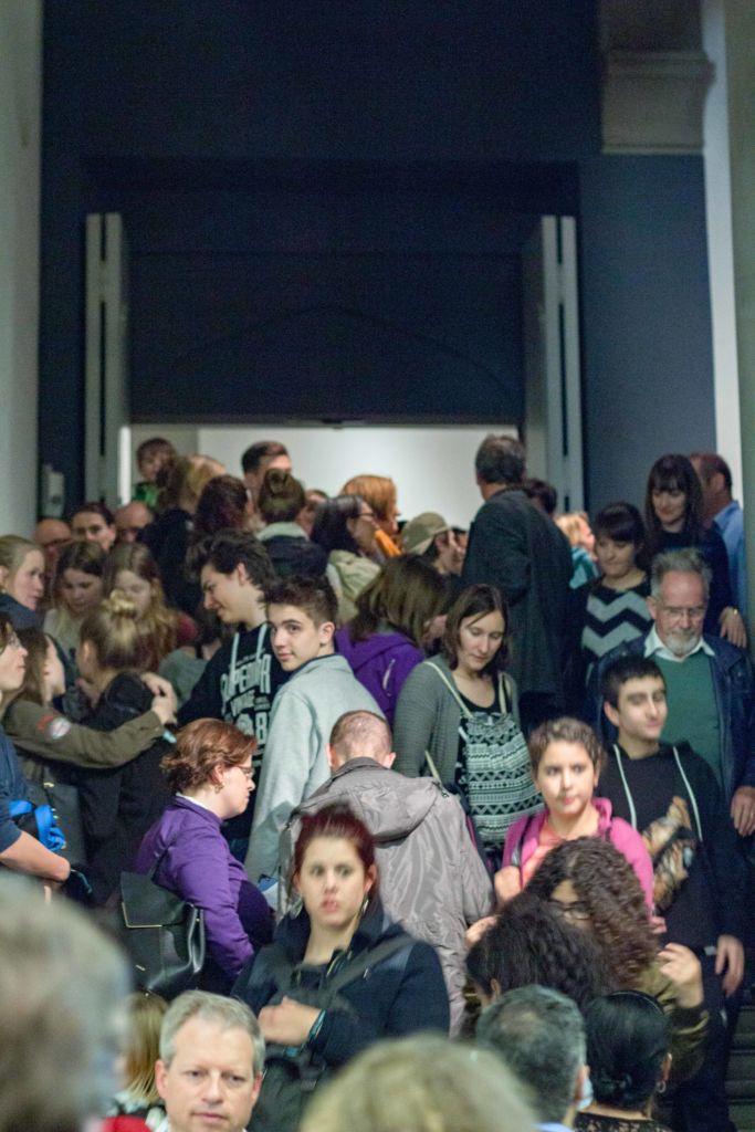 Grosser Andrang – die Berner Museumsnacht. – Bild: Jana Sofie Liebe