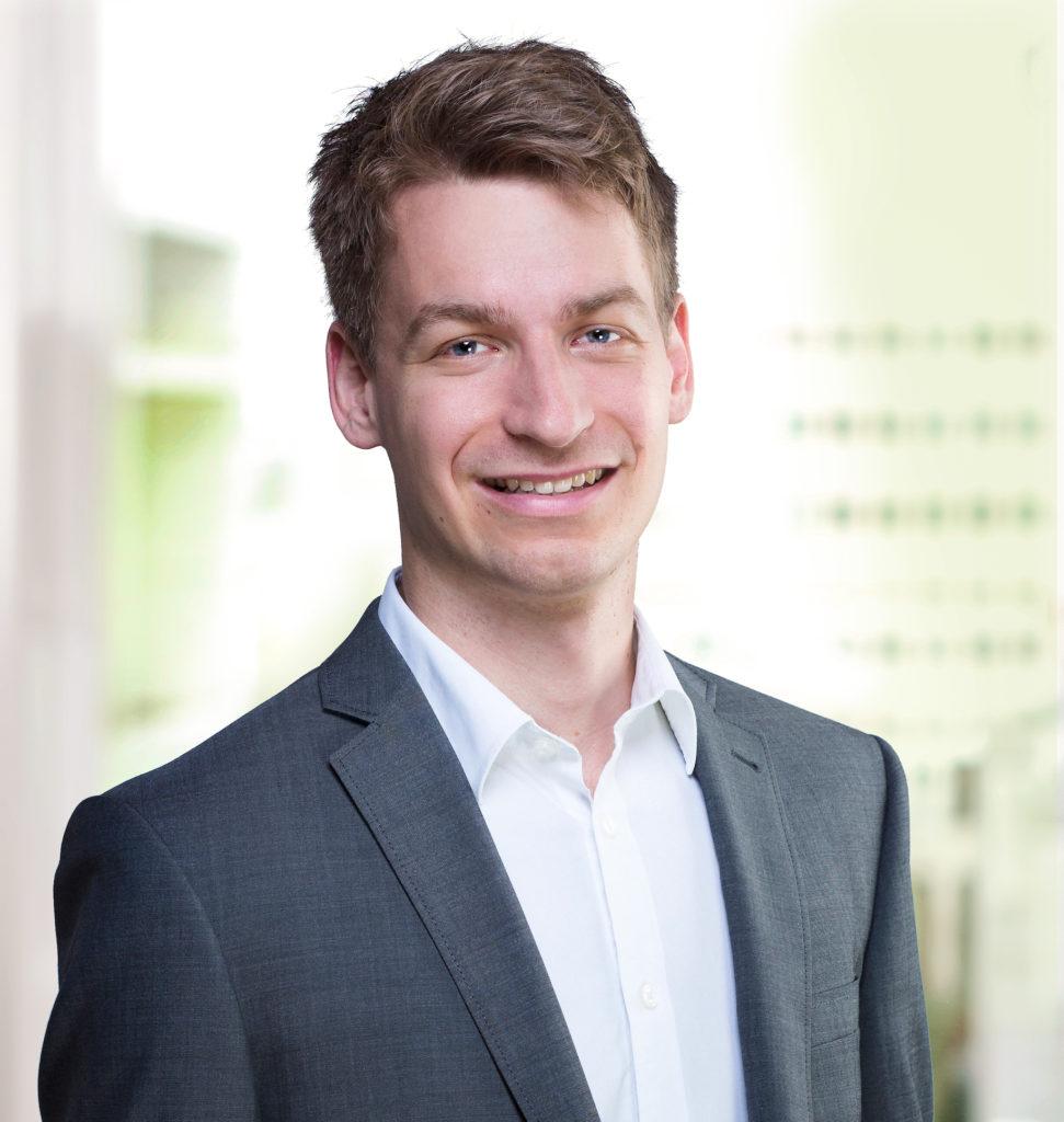 Pascal Vuichard (28) setzt sich für ein Ja zur Energiestrategie 2050 ein. – Bild: zvg