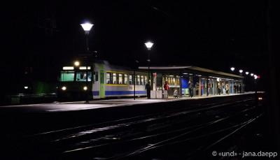 Serie: Alt und Jung im Zug